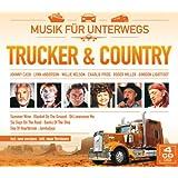 Trucker & Country - Musik für unterwegs (59 Hits auf 4 CDs) mit Johnny Hill; Willie Nelson, Lynn Anderson, Charlie Pride, Roger Miller, Gordon Lightfoot, uva.