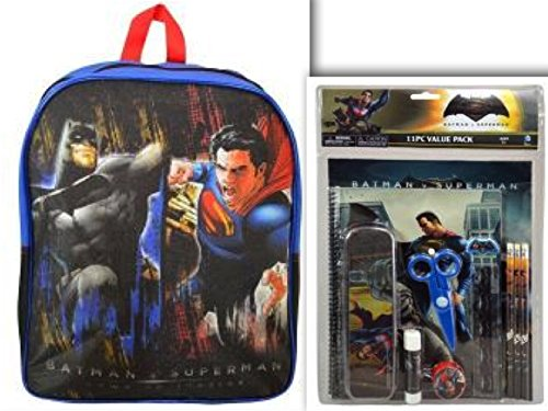 Batman v Superman Back to School Bundle - 2 Items (12 pcs): Batman v Superman 15