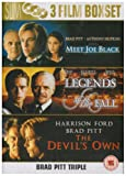 Meet Joe Black/Legends Of The Fall/The Devil's Own [DVD]
