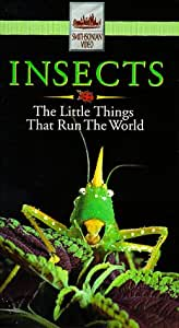 Insects:Little Things That Run the Wo [VHS]