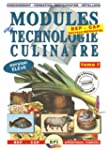 Modules de technologie culinaire BEP...