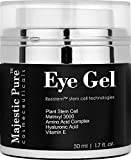 Majestic Pure Anti Aging and Skin Firming Eye Gel for Dark Circle, Wrinkles, Eye Puffiness, Loss of Tone and Resilience, 1.7 fl. oz.