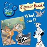 Disney Baby Animals Jigsaw Book (Disney Jigsaw Books)