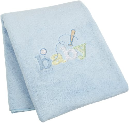 Carters Sweet Baby Blanket, Blue