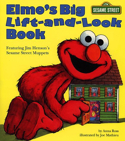 Elmo'S Big Lift-And-Look Book (Sesame Street) (Great Big Board Book) front-445529