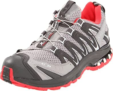 Salomon Women's XA Pro 3D Ultra 2 Running Shoe,Aluminum/Autobahn/Papaya,5 M US