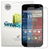 Greatshield Anti-Glare (Matte) Finish Screen Protector Shield Film for Motorola Moto X - Lifetime Replacement Warranty
