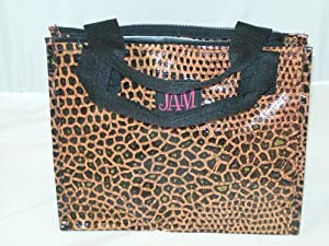 Snakeskin Insulated Lunch Bag