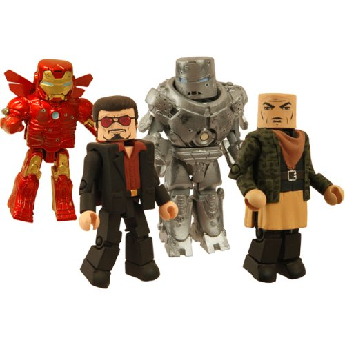 Hostile Takeover Minimates Exclusive Box Set (Iron Man Action Figure )