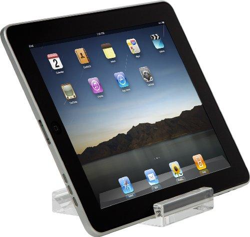 Targus Mini Stand Designed for Apple iPad 16GB, 32GB, 64GB WiFi and WiFi + 3G, iPad 2, Motorola Xoom, Samsung Galaxy AWE65US (Clear)