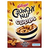 Kellogg's Chocolate Crunchy Nut Clusters Cereal 500 g (Pack of 2)