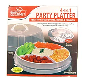 4-in-1 Party Platter by Handy Gourmet