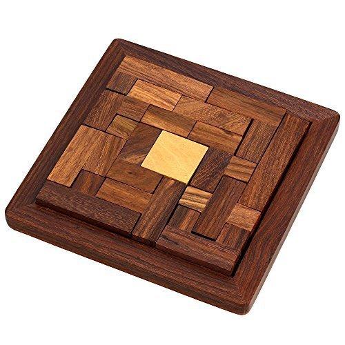 Handmade Indian Wood Jigsaw Puzzle