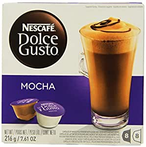 Nescafe Dolce Gusto for Nescafe Dolce Gusto Brewers, Mocha, 16 Count (Pack of 3)