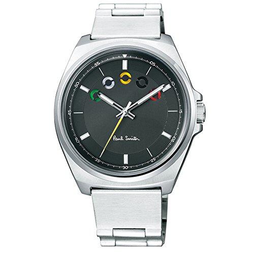 ポールスミス 腕時計 FIVE EYES アーチ状の5つの目 863184 Paul Smith クォーツ ピンストライプ (ブラック)