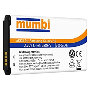 Mumbi Protection pour Samsung Galaxy S5 - Batterie