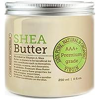 BEST Shea Butter - Premium Quality - Grade AAA+ Unrefined Organic Shea Butter (1 Pack)