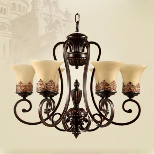 Lightinthebox island country vintage style chandeliers for Country lighting fixtures for home