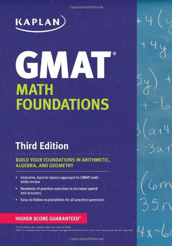 Viewing Mathematics Books of Kaplan GMAT Math Foundationsby Kaplan (May 7, 2013)