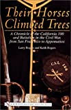 Their Horses Climbed Trees: A Chronicle of the California 100 and Battalion in the Civil War, from San Francisco to Appomattox (Schiffer Military History)