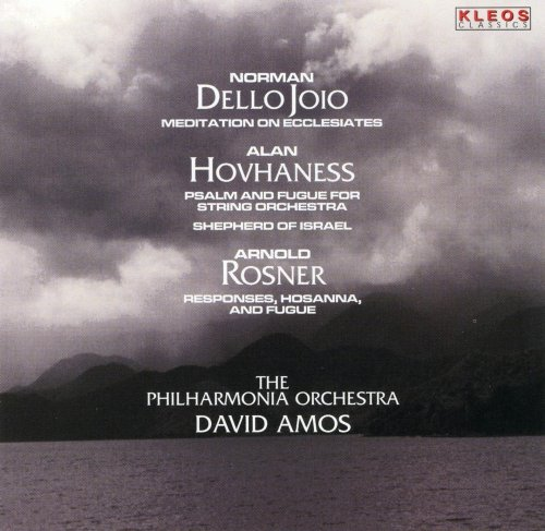 Dello Joio: Meditations on Ecclesiastes /Hovhaness: Psalm and Fugue; Shepherd of Israel /Rosner: Responses, Hosanna, and  Fugue