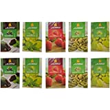 SG Shahi Hookah Flavour (Cardamom, Chocolate With Mint, Grape, Grape With Mint & Strawberry) (Pack Of 10)
