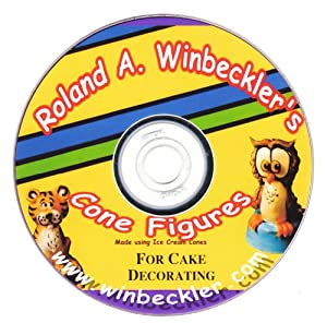 Cake Decorating Figures : Amazon.com: Cone Figures For Cake Decorating DVD: Roland ...