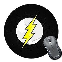 Zanky the Flash Black Logo-ZYRMPD03798 Multicolor Printed MousePad