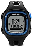 GARMIN(ガーミン) ランニングGPS ForeAthlete 15J ブラック/ブルー 【日本正規品】 124104
