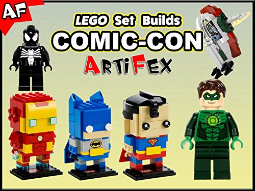 Clip: Lego Set Builds Comic-Con - Season 1