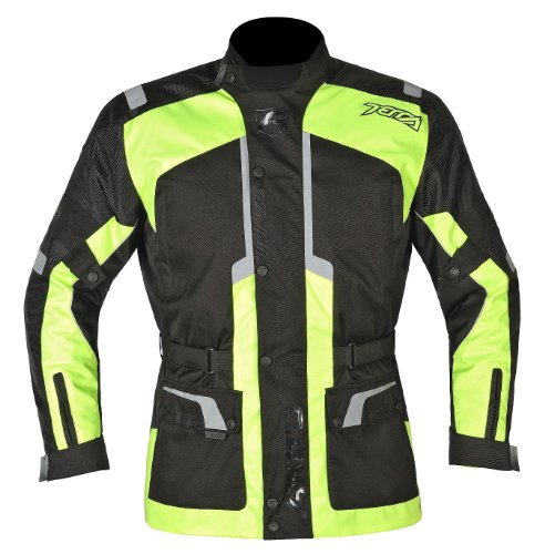 veste de moto akito terra veste imperm able de moto couleur jaune noir 4xl sport automobile vestes. Black Bedroom Furniture Sets. Home Design Ideas