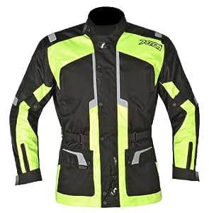 Akito Terra Motorcycle Motorbike Waterproof Urban Jacket Black/Yellow XS