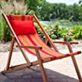 Deck and Beach Chair Lounger Color - Sand Stripe from Deepa Panels
