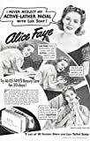1940 Lux Toilet Soap Original Vintage Ad with Alice Faye