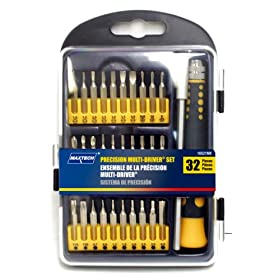 Maxtech 16521MX 32-Piece Precision Bit Set