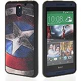 MOONCASE TPU Silikon Tasche Case Cover Schutzh�lle Etui H�lle Schale f�r HTC Desire 610