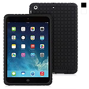 Snugg iPad Mini 1 / 2 / 3 Silicone Case - Protective, Non-Slip Silicone Case With Lifetime Guarantee (Black) For Apple iPad Mini, iPad 2 Retina & iPad Mini 3