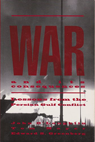 War and Its Consequences: Lessons from the Persian Gulf Conflict PDF