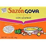 Goya Sazon Azafran Seasoning 1.41oz (Pack of 3)