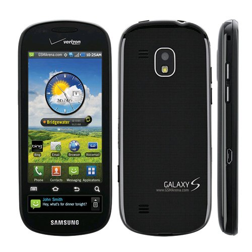 Verizon I400MOCK Samsung Continuum i400 Replica Dummy Phone/Toy Phone, Black - 1