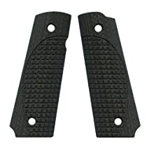 VZ Grips ETC/FRAG Full Size 1911 Gun Grip, Black Carbon Fiber