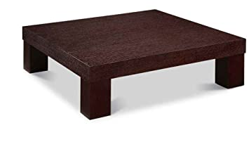 Wood Coffee Table in Wenge Finish