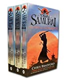 Chris Bradford Young Samurai Collection 3 Books Pack Set (The Way of The Sword, The Way of The Dragon, The Way of The Warrior)