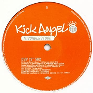 KICK ANGEL - Misunderstood - Promo 2 - 12 inch 45 rpm