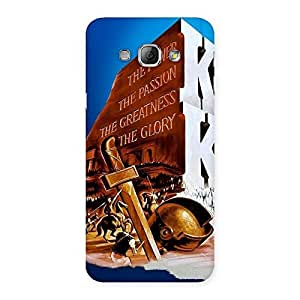 Delighted King Power Back Case Cover for Galaxy A8