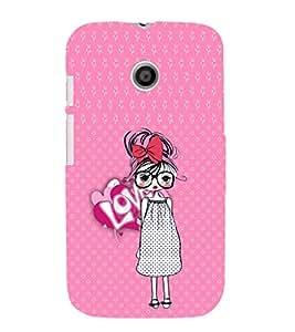 Ebby Premium Printed Mobile Mobile Back Case Cover With Full protection For Motorola Moto E (Designer Case)