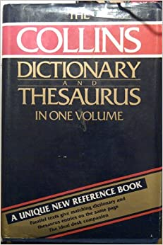 collins dictionary and thesaurus pdf