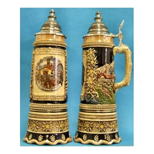 Octoberfest Musical German Beer Stein .5L