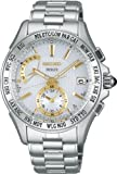 [セイコー]SEIKO 腕時計 DOLCE ドルチェ スーパークリアコーティング ソーラー電波時計 ワールドタイム SADA001 メンズ