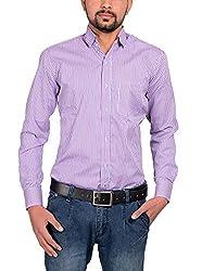 Riwas Collection Men's Formal Shirt (r-111_Pink_Medium)